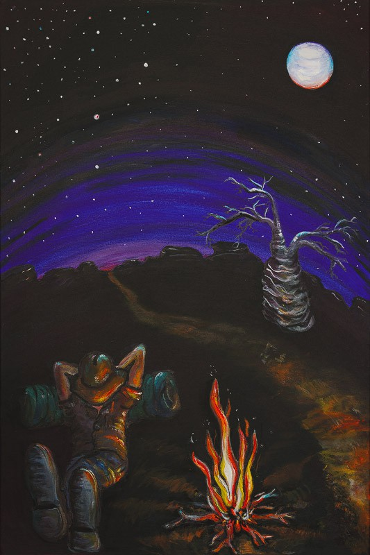 The Night Moves - Broome Art