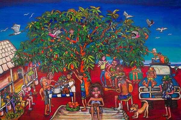 Mates Mangos and Music by Pindan Art Broome Western Australia