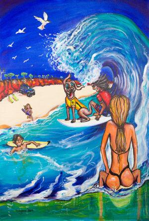 Surf Art Artist in Western Australia