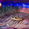 Kimberley art   Staircase to the moon